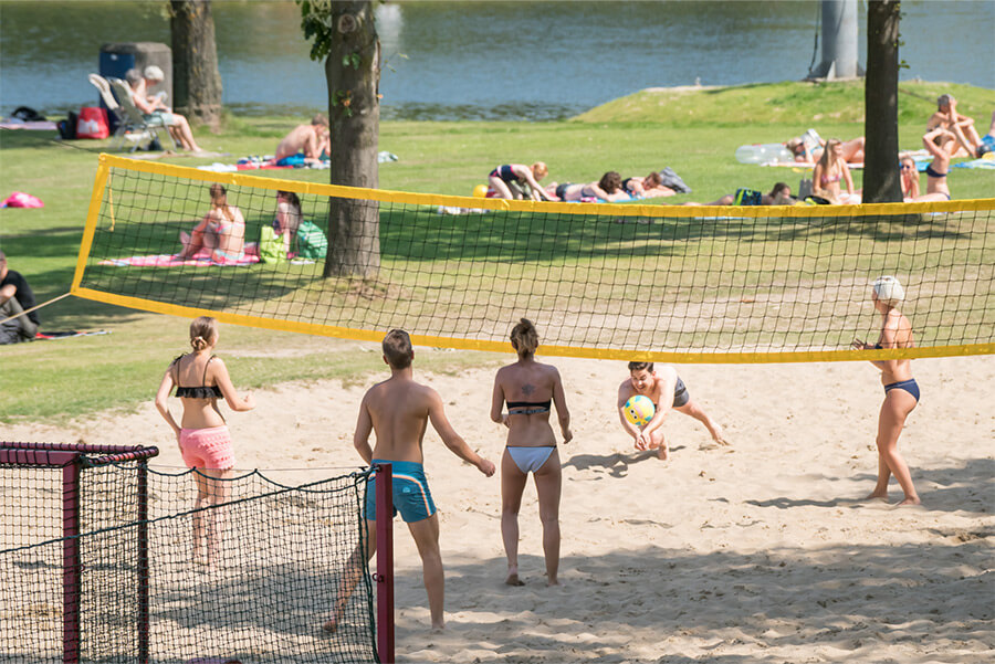 Beachvolleyveld